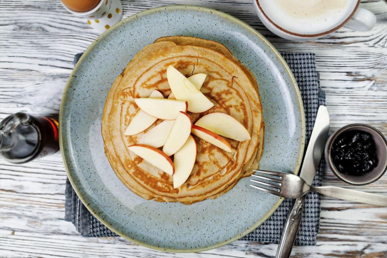 Glutenfreie Buchweizenpfannkuchen