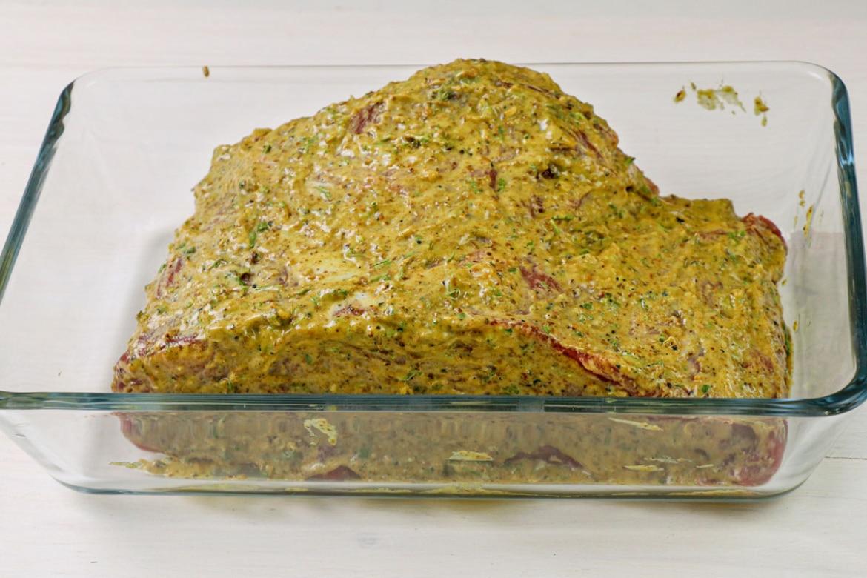 Roastbeef mariniert