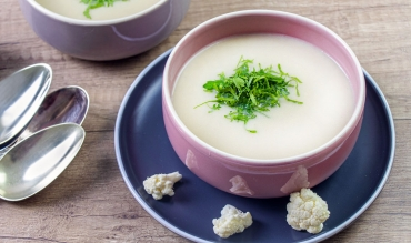 Blumenkohlcremesuppe Low Carb