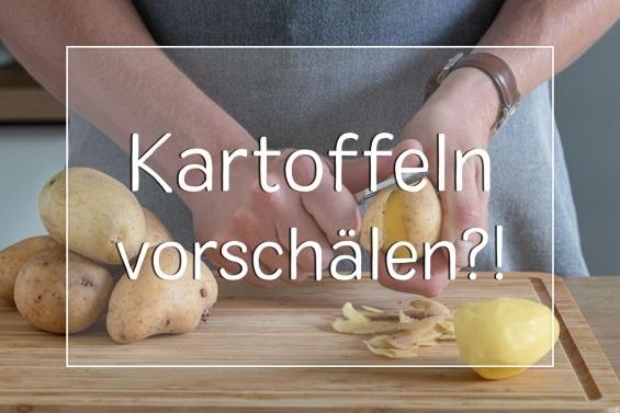 Kartoffeln vorschälen