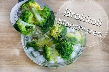 Brokkoli blanchieren