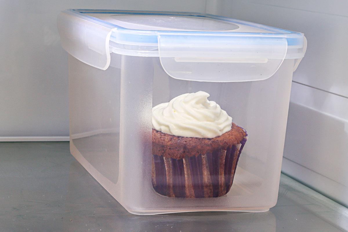 Cupcake aufbewahren
