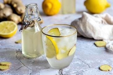 Ingwer Zitronen Sirup
