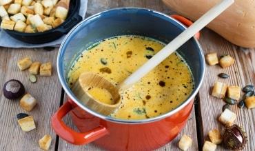 Kürbissuppe aus Butternut