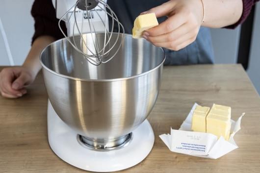Butter hinzufügen