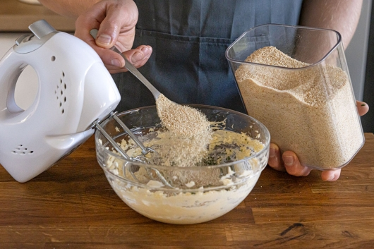 Kräuterkruste zubereiten