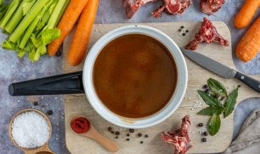 Dunkle Sauce selber machen