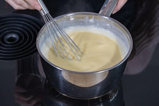Pudding kochen