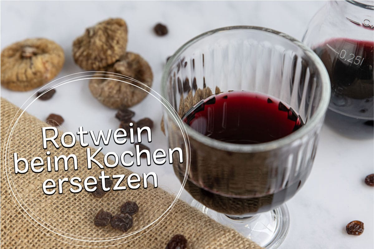 Rotwein ersetzen