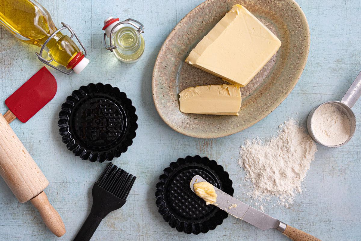 Backen öl Durch Butter Ersetzen