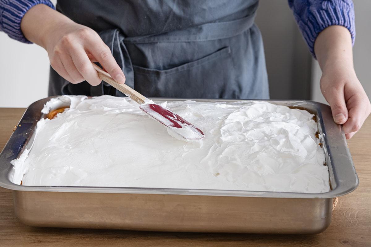 Baiser für Tränchenkuchen