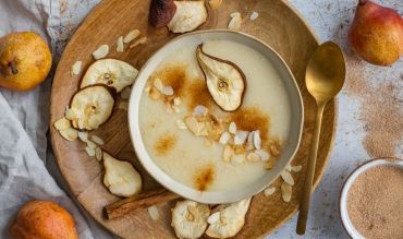 Süße Birnensuppe