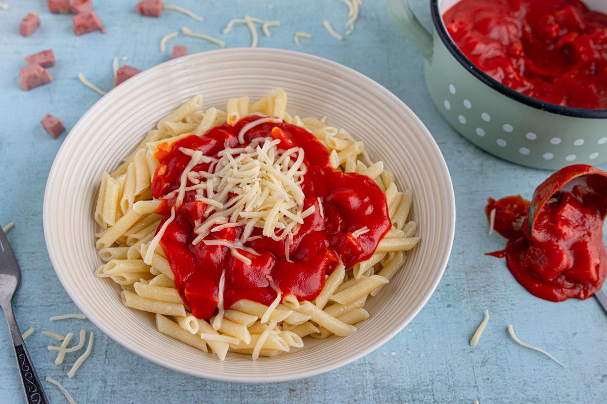 DDR Tomatensoße mit Ketchup