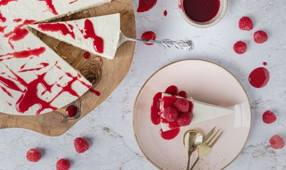 New York Cheesecake ohne Backen