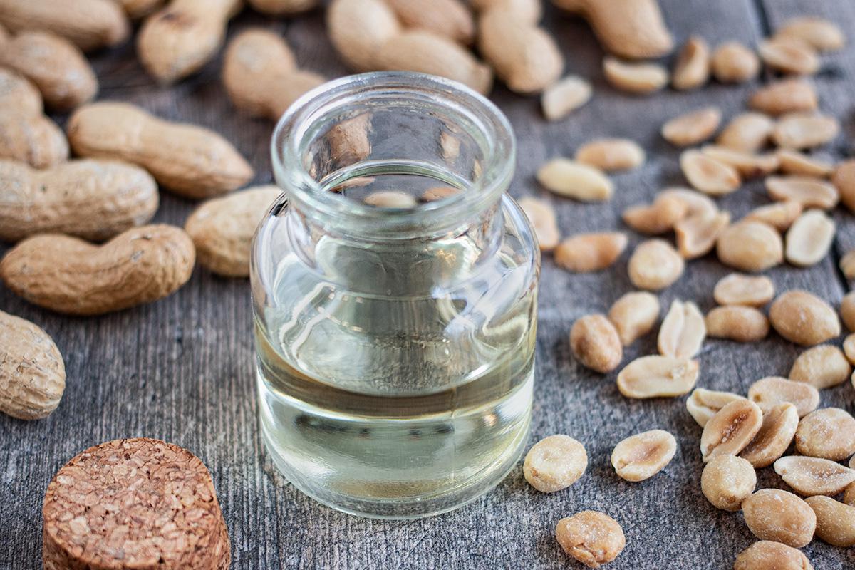 Erdnussöl für hohe Temperaturen
