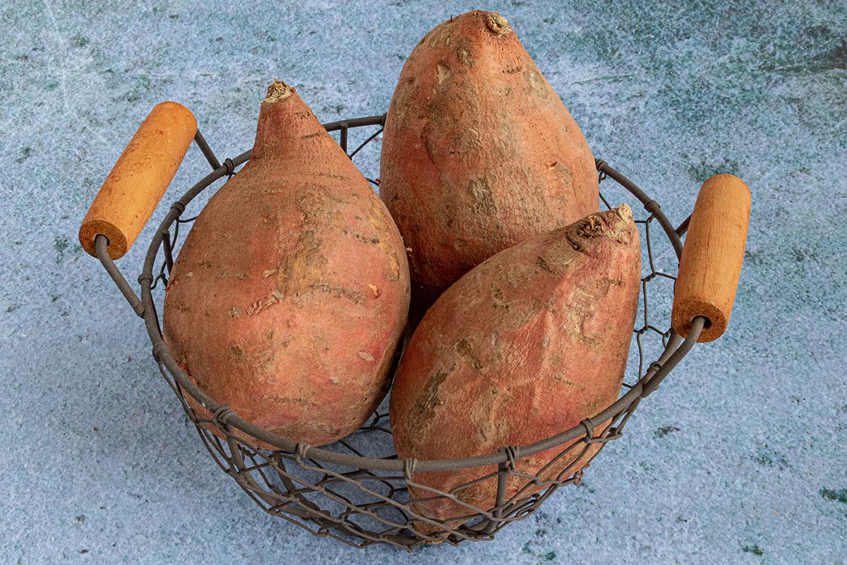 Süßkartoffeln lagern