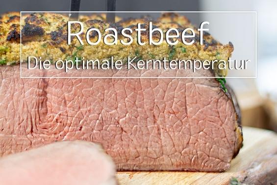 Roastbeef Kerntemperatur - Titel