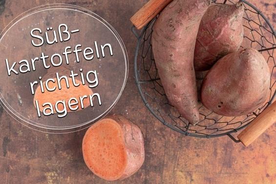 Süßkartoffeln lagern -Titel