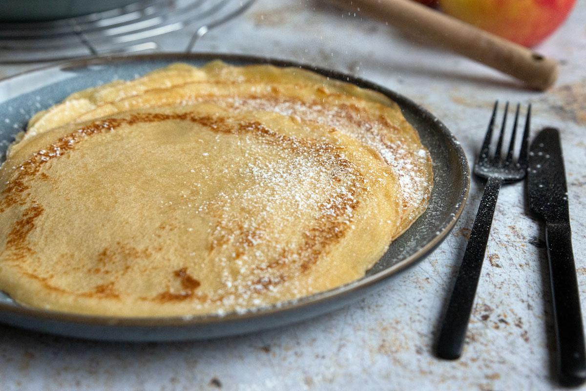 Pfannkuchen für 2