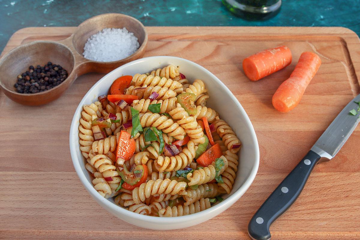 Nudelsalat einfrieren Zutaten
