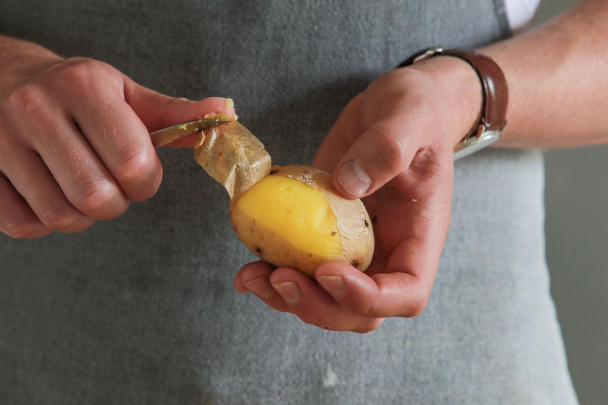 Kartoffel pellen