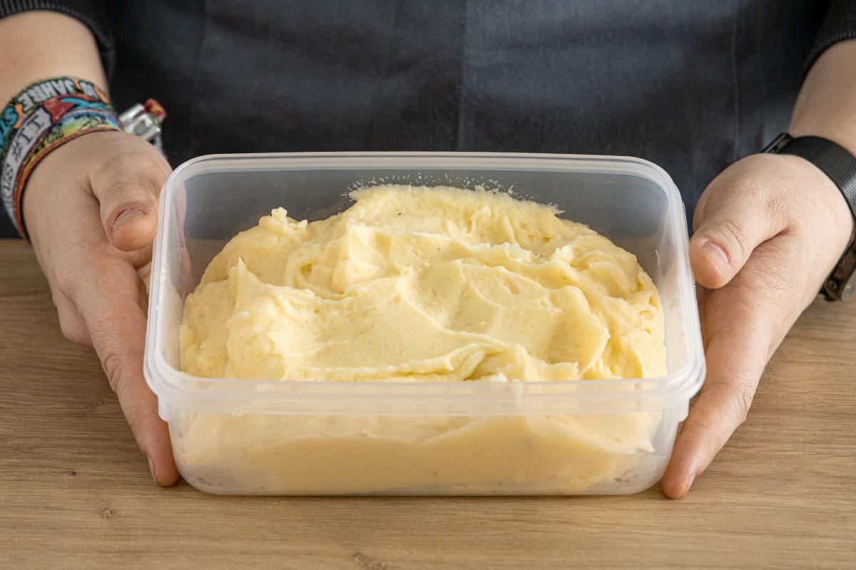 Kartoffelbrei einfrieren