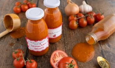 Tomatensauce kochen und haltbar machen