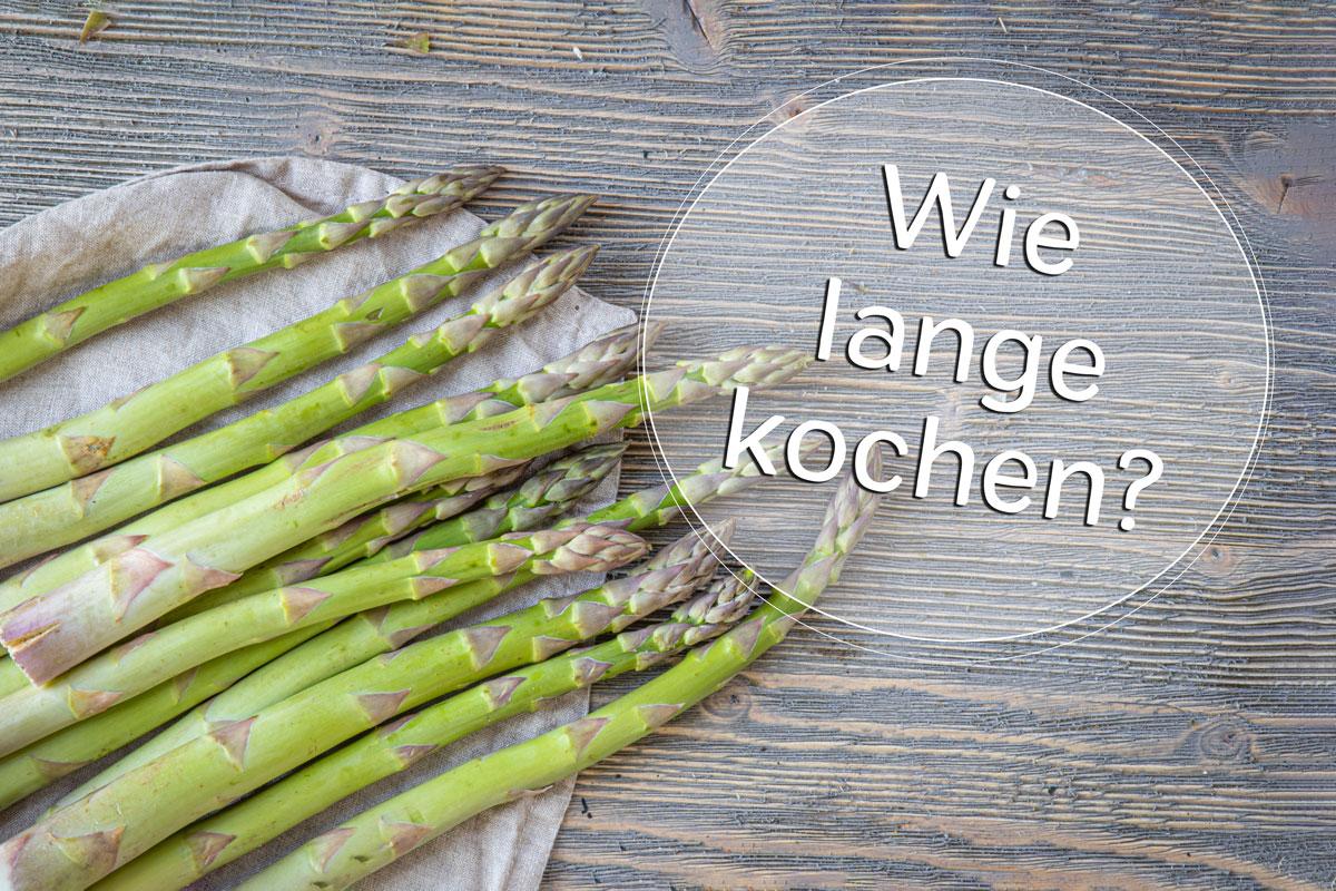 Kochzeit Spargel - Titel