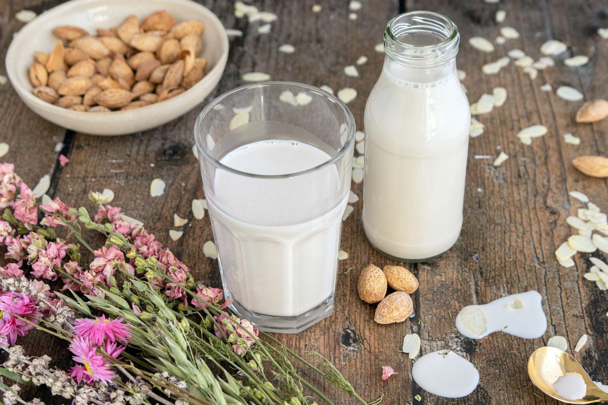 Mandelmilch kann in die Paleo Ernährung eingebaut werden
