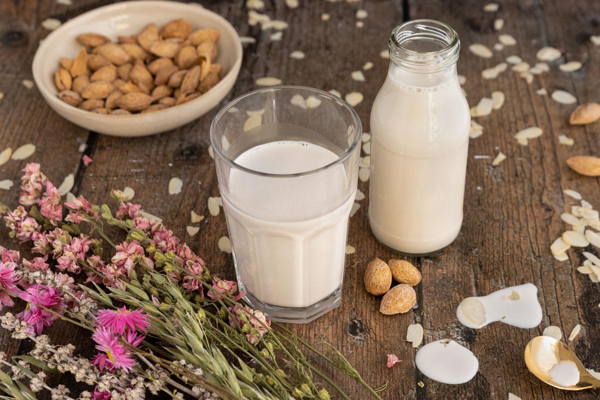 Mandelmilch selber machen