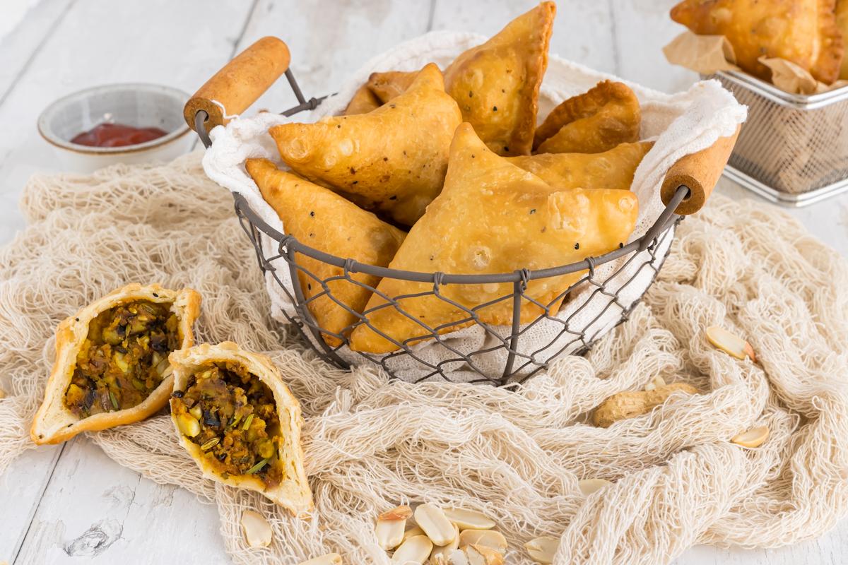 Original indische Samosas