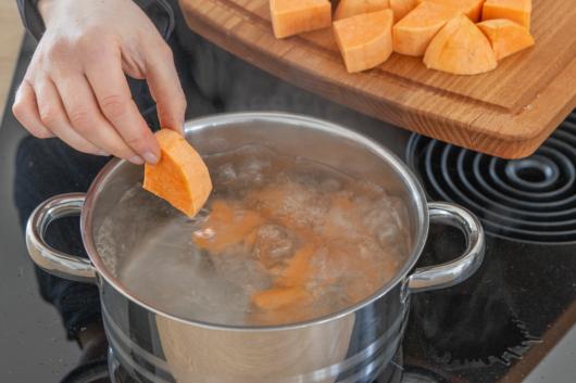 Süßkartoffel kochen
