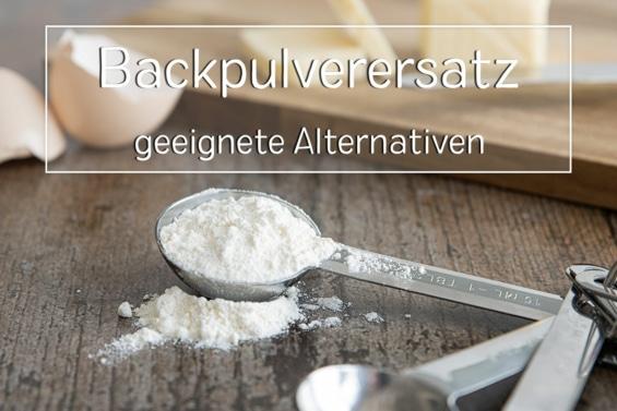 Backpulverersatz - Titel