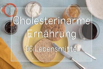 Cholesterinarme Lebensmittel - Titel