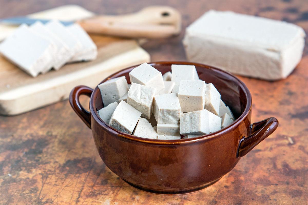 Tofu aka. Bohnenkäse