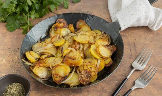 Schnelle Bratkartoffeln