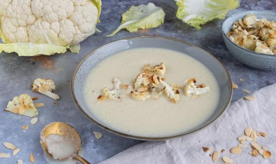Vegane Blumenkohlsuppe