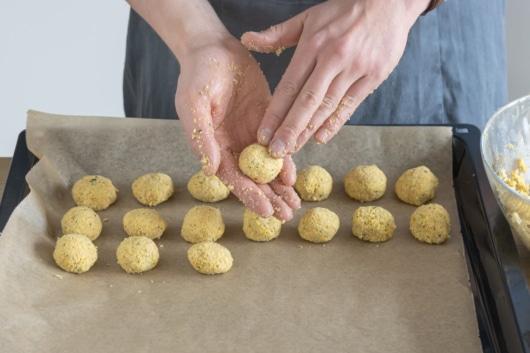 Falafel formen