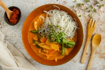 Thai Panang Curry mit Huhn