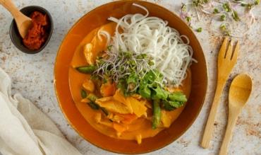 Thai Panang Curry mit Huhn
