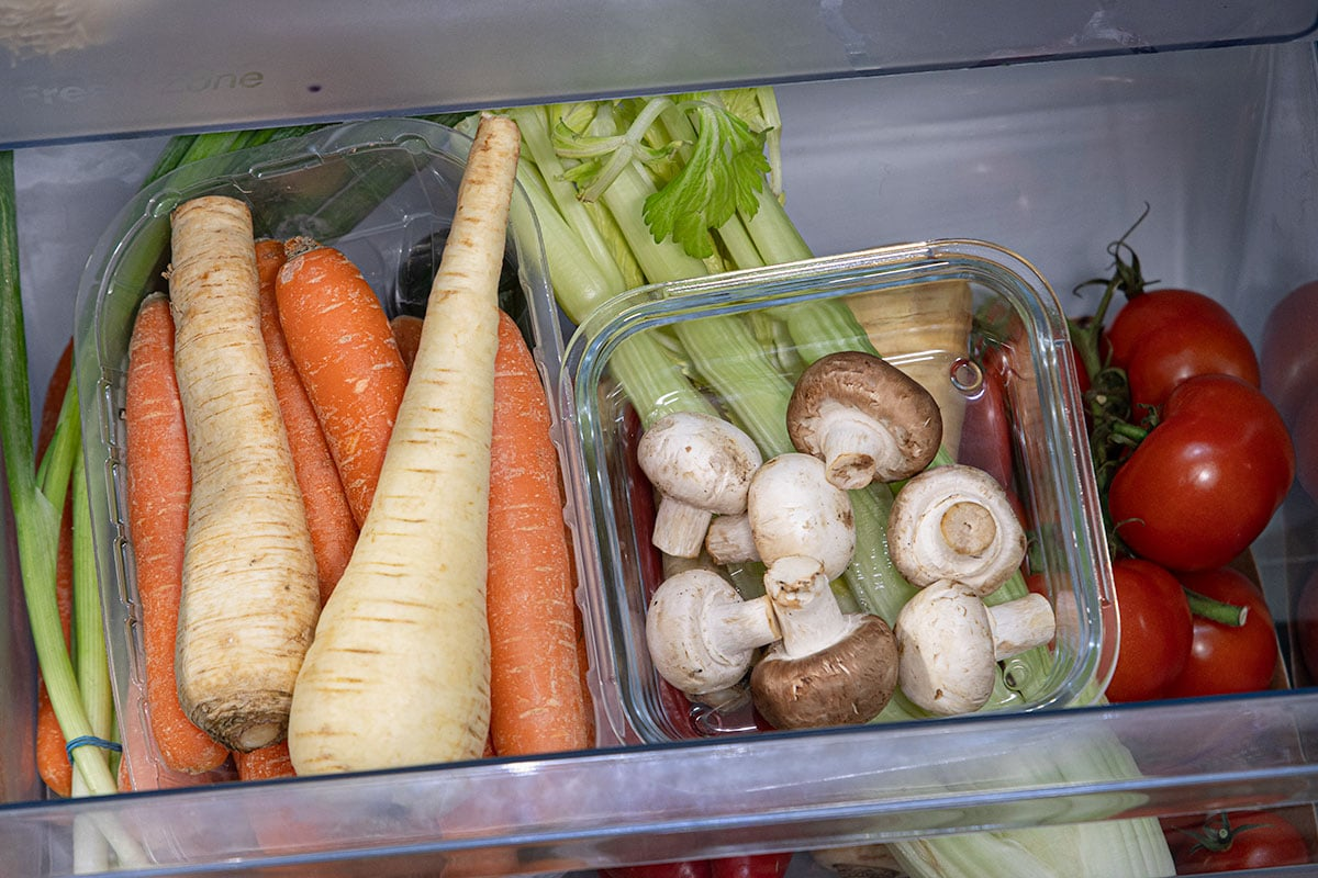 Champignons im Kühlschrank lagern