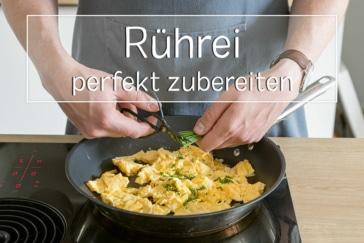 perfektes Rührei zubereiten - Titel