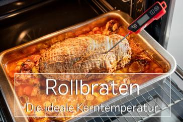 Kerntemperatur Rollbraten - Titel