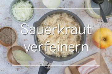 Sauerkraut verfeinern - Titel