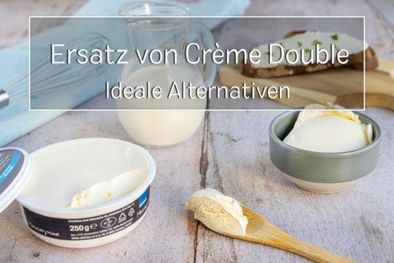 Ersatz von Crème Double