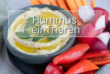 Hummus einfrieren