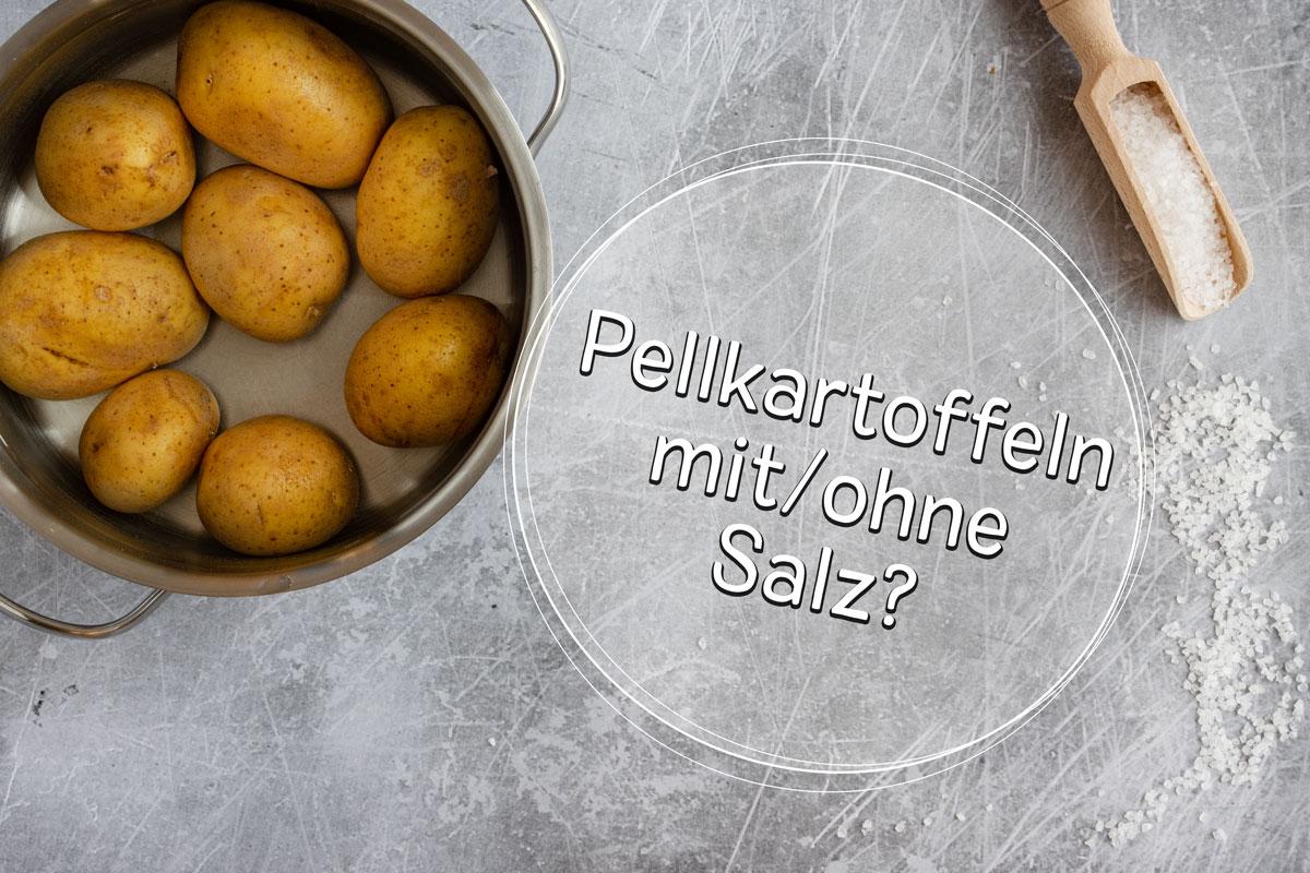 Pellkartoffeln mit oder ohne Salz?
