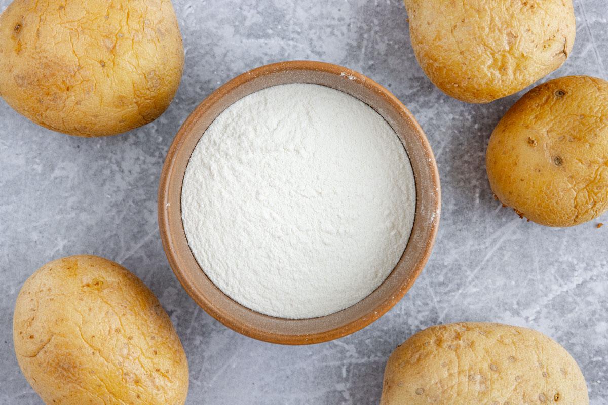 Kartoffelmehl als Alternative für Speisestärke