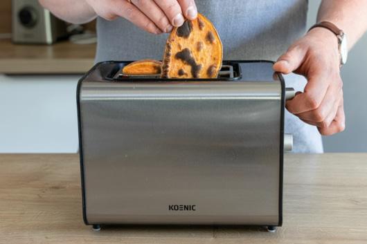 Süßkartoffel im Toaster