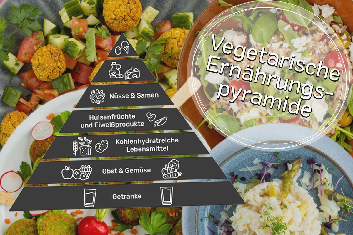 Vegetarische Ernährungspyramide